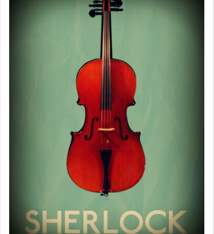 Sherlock Violin Sticker
