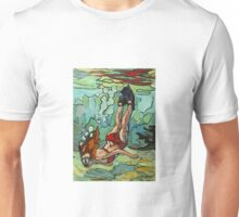 Snorkeling on a Reef Unisex T-Shirt
