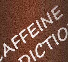 Caffeine addiction. Sticker