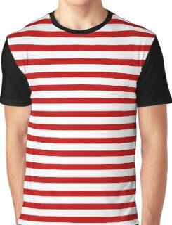 lineas rojas  Graphic T-Shirt