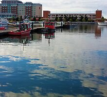 Erie, PA: Tugs in the Harbor by ACImaging