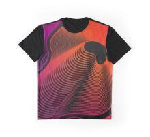 Abstract Moire Graphic T-Shirt