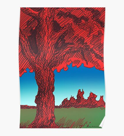 The Red Tree Poster