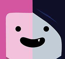 Adventure Time - Princess Bubblegum & Marceline by HBgraphics