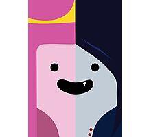 Adventure Time - Princess Bubblegum & Marceline Photographic Print