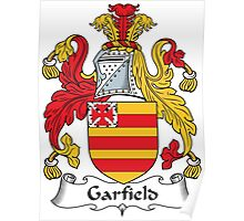 Garfield Coat of Arms (English) Poster