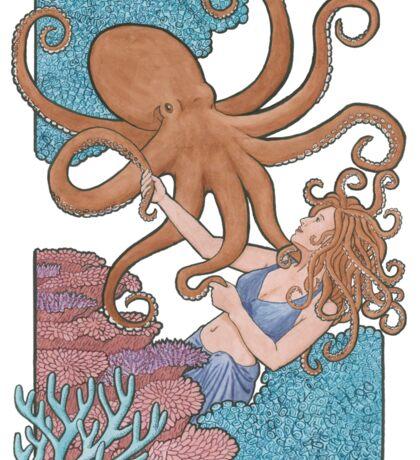 Octopus Dance  Sticker