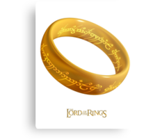 The One Ring Metal Print
