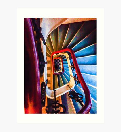 Case of the Stairs Art Print