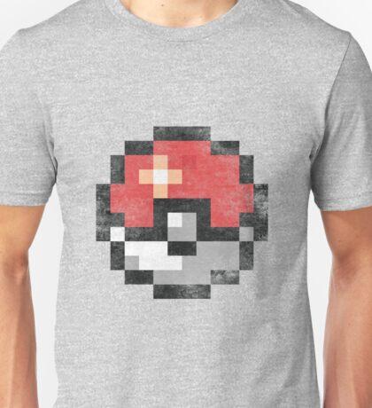 Vintage pokéball - 8bit Unisex T-Shirt