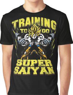 training to go super saiyan ssj gym Graphic T-Shirt