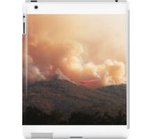 Black Bart Wildfire near Lake Mendocino iPad Case/Skin