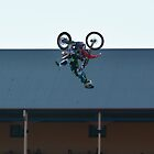 STUNT CYCLE- ROYAL ADELAIDE SHOW by JAMES LEVETT
