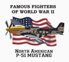 Famous Fighters - P-51 Mustang Kids Clothes