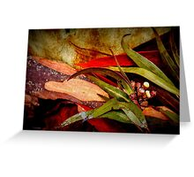 Tree Bark Series Abstract #9 Greeting Card