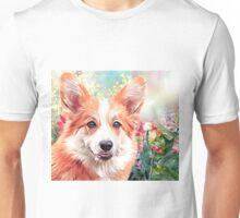 Corgi Painting  Unisex T-Shirt
