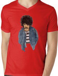 Phil Lynott Mens V-Neck T-Shirt