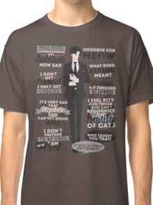 Cat Addict Quotes Classic T-Shirt