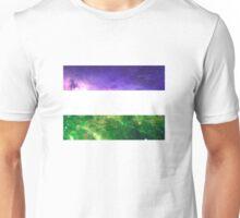 Non Binary Flag - LGBTQ Galaxy Unisex T-Shirt