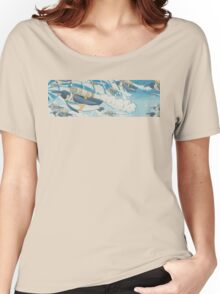 Jetpack Penguins Women's Relaxed Fit T-Shirt