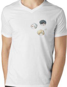 Chibi Y!!!OI Trio  Mens V-Neck T-Shirt