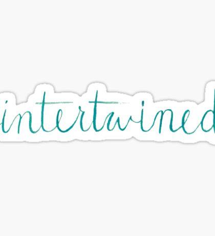intertwined Sticker