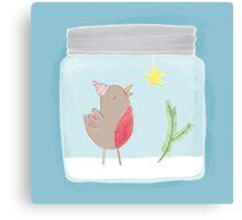 Christmas Jar Canvas Print