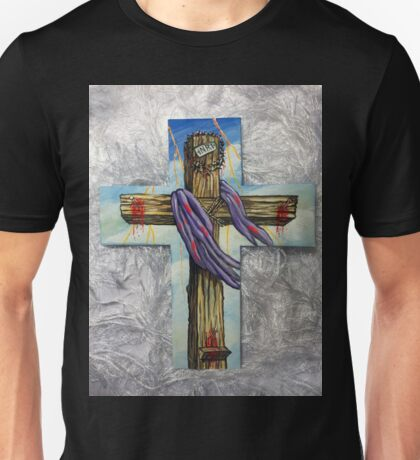 Blood On The Cross Unisex T-Shirt