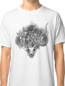 Life's Mystery: The Deer Skull Classic T-Shirt