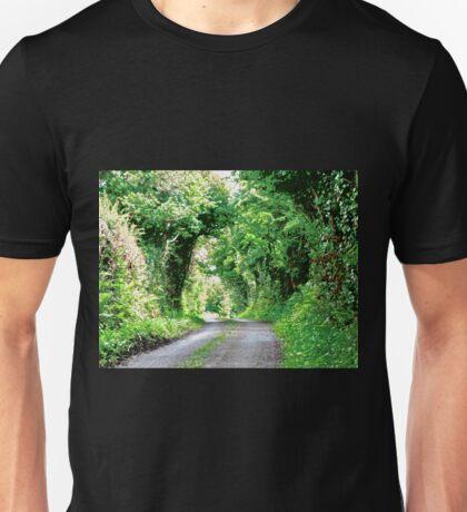Leafy Lane - County Kerry, Republic of Ireland Unisex T-Shirt