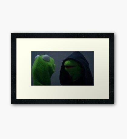 Kermit the Frog Inner Me Framed Print