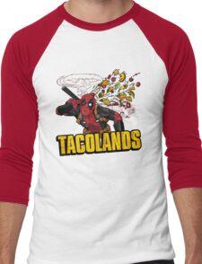 TACOLANDS Men's Baseball ¾ T-Shirt