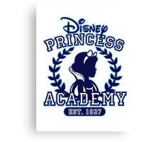 Disney Princess Academy Canvas Print
