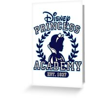 Disney Princess Academy Greeting Card