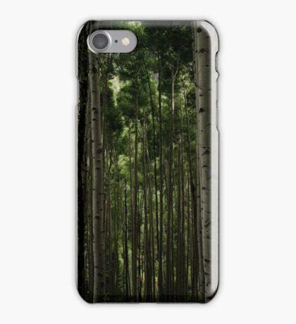 Aspens near the Maroon Bells iPhone Case/Skin