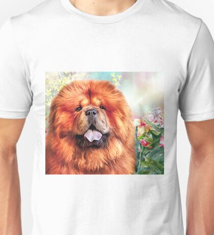 Chow Chow Painting  Unisex T-Shirt