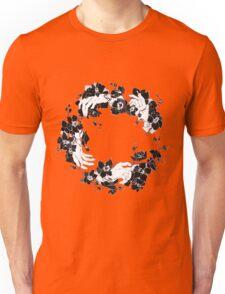 black orchid flower Unisex T-Shirt