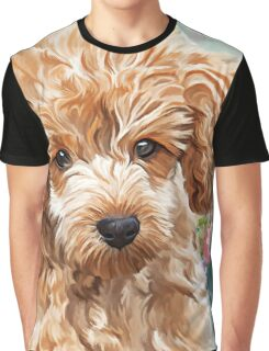 Poodle Painting  Graphic T-Shirt