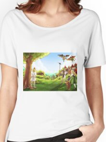 William Tell and the Apple Women's Relaxed Fit T-Shirt
