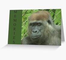 Memories Greeting Card