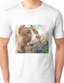 Pit Bull Painting  Unisex T-Shirt