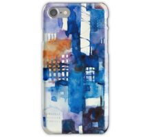 Urban landscape 1 iPhone Case/Skin
