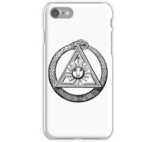 Masonic Symbol - Snake Eye iPhone Case/Skin