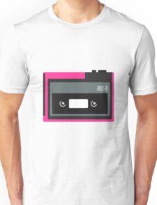 80s Portable Audio Tape Player Unisex T-Shirt