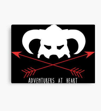 Adventurers at heart Canvas Print