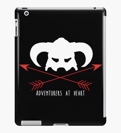 Adventurers at heart iPad Case/Skin