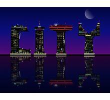 Abstract skyline. Photographic Print
