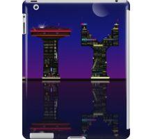 Abstract skyline. iPad Case/Skin