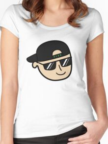 PLUR Guy Women's Fitted Scoop T-Shirt