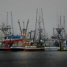 Ships at Rest ~ Newport Oregon ~ by Charles & Patricia   Harkins ~ Picture Oregon